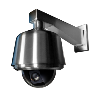 pelco spectra stainless steel camera and arm