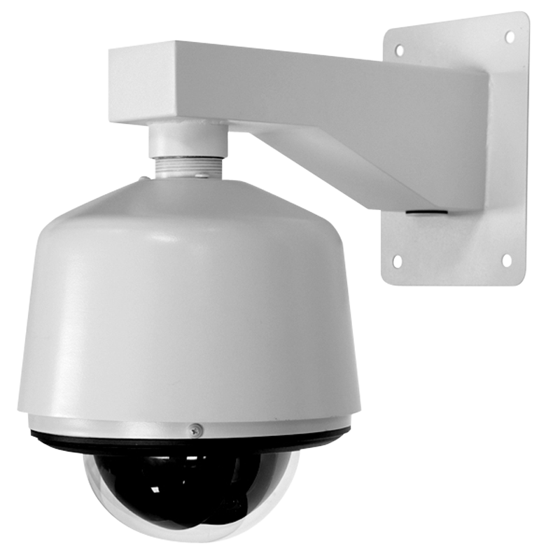 pelco spectra mounted on arm