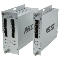 pelco FUMS gfx 4 port and 8 port switch hubs