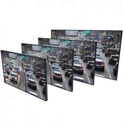 pelco PMCL600 4k ultra high definition wall monitors