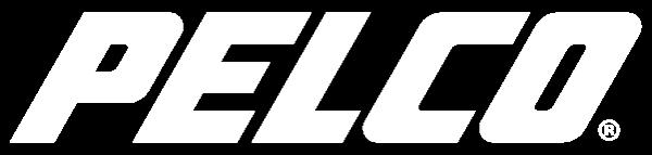Pelco White Logo