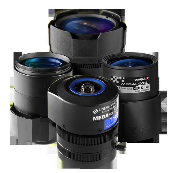 lenses pelco camera accessories