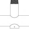 Triple Retrofit Arm For PP Mounts
