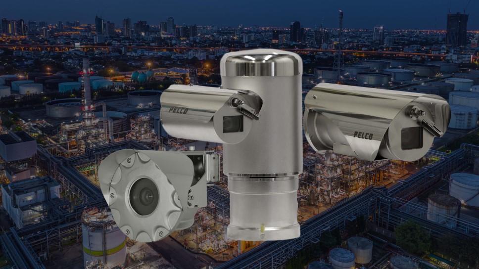 Pelco Exsite enhanced 2 camera series